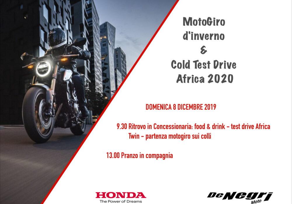 02 - MotoGiro d'inverno e test drive Africa 2020